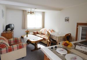 Brunnenhof Appartement Wohnzimmer